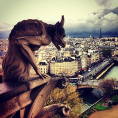 Gargoyle Notre Dame De Paris  - @Amandine ★-