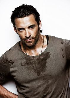 Hugh Jackman. You have to love a man who looks like this and can tap dance and sing show tunes.