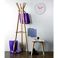 Paint Senior hook by Creativando - design Davide Carlesi and Gianluca Tonelli of Area Available in white, azure, grey and red. Clothes Stand, Bottle Rack, Coat Hanger, Cool Furniture, Wardrobe Rack, Branding Design, Painting, Home Decor, Hangers