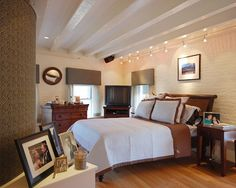 Bedroom Decorating An Unfinished Basement Design, Pictures, Remodel, Decor and Ideas - page 3