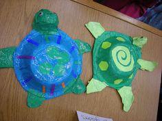 Artolazzi: Papier Mache Sea Turtles