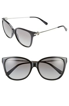 Women's Michael Kors Collection 'Glam' 57mm Retro Sunglasses