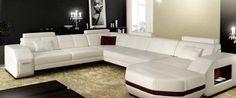 Sofá reclinable 2016 Negro sofás de cuero, muebles chinos