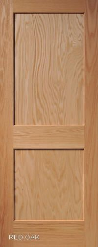 Red Oak Mission 2-Panel Wood Interior Doors 80x30 $219 & Crossing a threshold becomes a cosmic experience with a Victor ... Pezcame.Com