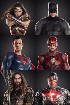 League Of Justice Of The America Batman,Wonder Woman,Flash,Cyborg,Aquaman And Superman. Marvel Dc Comics, Marvel Avengers, Dc Comics Superheroes, Dc Comics Characters, Dc Movies, Comic Movies, Dc Heroes, Comic Book Heroes, Young Justice