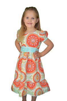 Girls Dress Size 4T/ 5T Easter Dress Summer Dress by RachelsTrends, $37.00