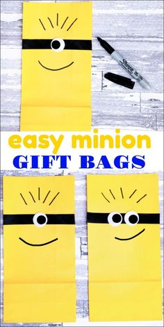 These easy Minion gi