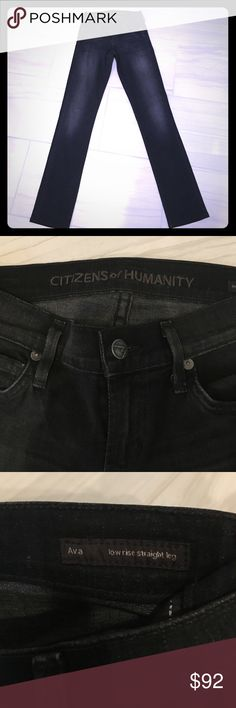 Citizens of Humanity. Size 26. Citizens of Humanity. Size 26.  Ava low rise Straight leg. Super stretchy. Like new. Citizens of Humanity Pants Straight Leg
