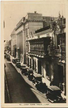 Palacio Torre Tagle y Edificio BCP, 1930