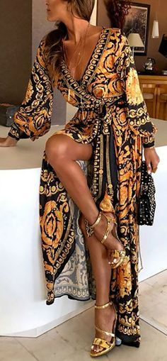 Hot Sale 2020 Trendy Vacation Printed Maxi Dress Source by mithragruenberg - Trendy Dresses Trendy Dresses, Fashion Dresses, Summer Dresses, Maxi Dresses, Summer Outfits, Maxi Dress Styles, Dress Vestidos, Vacation Outfits, Evening Dresses
