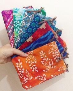 Pouches, My Etsy Shop, Sewing, Bags, Fashion, Handbags, Moda, Dressmaking, Fashion Styles