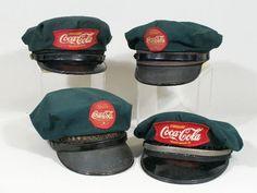 Vintage Coca-Cola Delivery Driver Hats