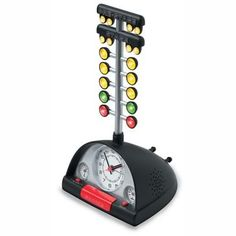 Find Drag Race Alarm Clock w/Batteries and get Free Shipping on Orders Over $99 at Summit Racing! Here's the ultimate wake up call for all you drag racing gear heads! As the alarm sounds, the staging (Christmas) tr