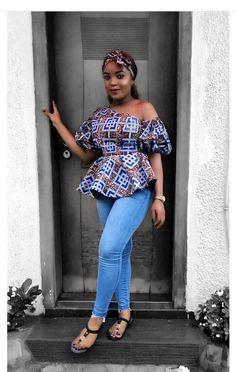 Classiest ankara peplum top designs and styles of 2018 for ladies. Beautifully made ankara peplum top designs Short African Dresses, African Blouses, Latest African Fashion Dresses, African Print Fashion, Africa Fashion, African Print Peplum Top, Ankara Fashion, African American Fashion, Short Dresses