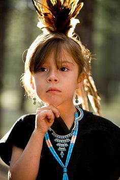 Navajo (First Nations) girl