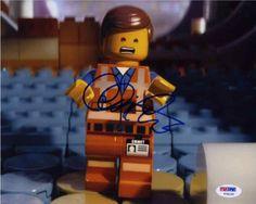 "Chris Pratt ""Lego Movie"" Signed 8x10 Photo Certified Authentic PSA/DNA"