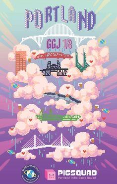 Poster showcase 2018 | Global Game Jam® Poster Creator, Indie Games, Creative