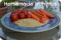 Homemade hummus for kids and babies-The Pleasantest Thing: Hummus Without Tahini