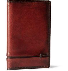 3b181fddf2a1 Berluti Burnished Leather Wallet Designer Wallets