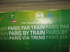 Dicas Práticas de Francês para Brasileiros: Gares de Paris, RER, Transportes…
