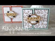 Klappkarte | Gutscheine | Geldgeschenke | Stampin´ Up! - YouTube