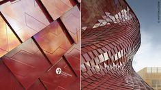 Una nuova immagine di Vanke, rivestito con lastre Fractile by Casalgrande Padana, su disegno di Daniel Libeskind!