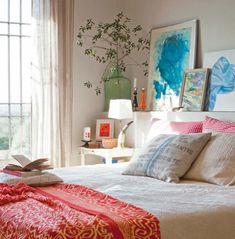 10 dormitorios para soñar despiertos. Dormitorio con cabecero de obra.