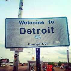 Welcome to Detroit Rock City