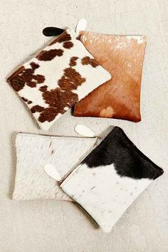 Urban Renewal Remade Calf Hair Pouch from Urban Outfitters. Shop more products from Urban Outfitters on Wanelo. White Purses, Small Handbags, Cute Bags, Leather Clutch, Diy Fashion, Bridesmaid Gifts, Purses And Bags, Vintage Ladies, Creations