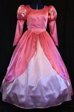 Little Mermaid Ariel Pink Gown Costume Adult Size by mom2rtk, $414.99