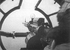 The tail gunner and his view out of a G4M1 Japanese bomber, 1941- Pin it by GUSTAVO BUESO-JACQUIER