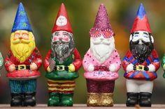 Gnomes Crash Distinguished Garden Show In England : NPR