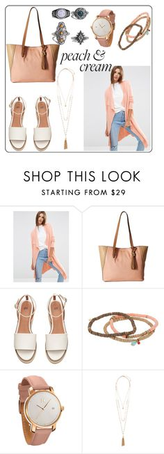 """""""Untitled #154"""" by monykhaled ❤ liked on Polyvore featuring ASOS, Jessica Simpson, Chan Luu, MVMT, Accessorize and Boohoo"""