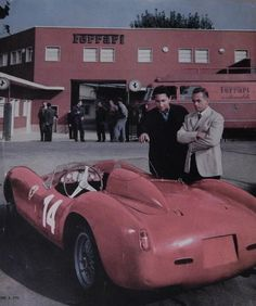 Ferrari. Phil hill.