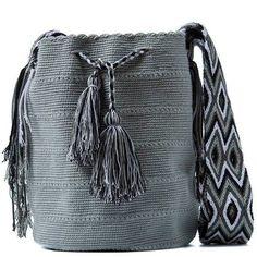 Ethnic Bag, Handmade Handbags, Tapestry Crochet, Knitted Bags, Cotton Bag, Pulls, Hand Knitting, Bucket Bag, Crochet Patterns