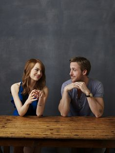Emma Stone & Ryan Gosling by Robert Ascroft - ''Crazy, Stupid Love'' Photoshoot (2011) #emmastone #ryangosling #crazystupidlove