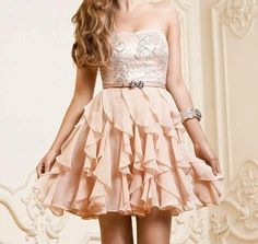 I really really want this dress Prom Dresses 2017, Peach Homecoming Dresses, Maxi Dresses For Teens, School Dresses, Prom Party Dresses, Club Dresses, Evening Dresses, Fashion Dresses, Bridesmaid Dresses