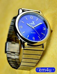 K Master Herren Uhr Blau