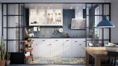 Ikea Pinterest, Design Ikea, Bungalow Bathroom, Ikea Kitchen Cabinets, Interior Design Courses, Ikea Home, Home Design Plans, Home Staging, New Kitchen