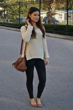 Side Zipper Cable Knit Sweater