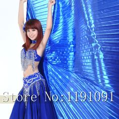 Egypt Isis Belly Dance Wings Dance Wing Hot New indian dance women bellydance 1pc wing 11 colors 1275936400