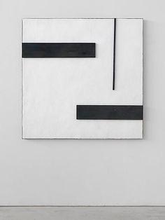 Untitled, 1984 Salt, Lime of Brenta, lead, burnt wood 63 x 63 x 2 3/4 inches 160 x 160 x 7 cm