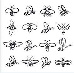 Honey bee set vector set of honey and bee labels for honey logo products isolated insect icon flying bee flat style vector illustration honeysetlogolabels adaptacin redes sociales yogurt alquera Bumble Bee Tattoo, Honey Bee Tattoo, Bee Icon, Honey Logo, Honey Label, Et Tattoo, Tattoo Arm, Dibujos Tattoo, Set Honey