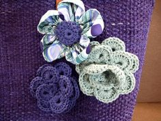flores de crochet. Didal