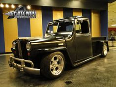 Jeep Willys Truck Interior. 1948 Willys Jeep Truck hot rod rods retro pickup wallpaper background