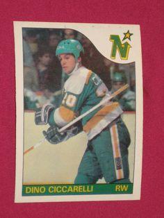 1985-86 #13 Dino Ciccarelli, O-Pee-Chee OPC, Minnesota North Stars NHL Card | eBay
