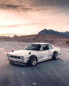 Classic Car News Pics And Videos From Around The World Auto Retro, Retro Cars, Vintage Cars, Tuner Cars, Jdm Cars, Classic Japanese Cars, Classic Cars, Nissan Gtr Skyline, Nissan 350z