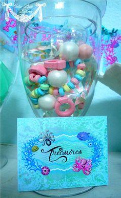 Tesoros para una fiesta de Sirenas :: Treasures for a mermaid party