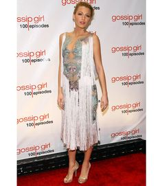 Blake Lively in Marchesa gown