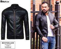 bpolf.cz Leather Jacket, Jackets, Fashion, Studded Leather Jacket, Down Jackets, Moda, Leather Jackets, Jacket, Fasion
